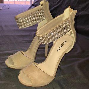 Bebe sparkly heels